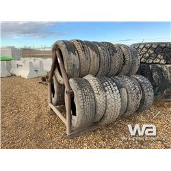 QTY OF ROAD CROSSING TIRES