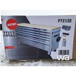"SIEBEL 72"" 15 DRAWER ROLLING TOOL BENCH"