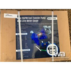20 GPM FUEL TRANSFER PUMP