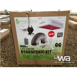 1000W LED GROW HYDROPONIC KIT