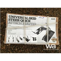 UNIVERSAL SKID STEER QUICK ATTACH ADAPTER