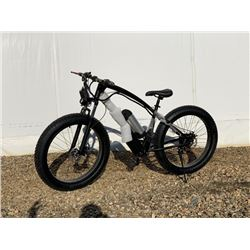 (UNUSED) FAT TIRE ELECTRIC-PEDDLE BIKE