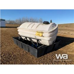WASTE OIL STORAGE TANK & CONTAINMENT