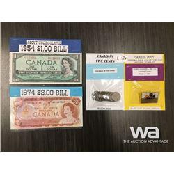 BANKNOTES, COINS & PIN
