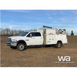2014 DODGE 5500 CREW CAB SERVICE TRUCK