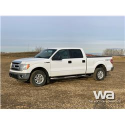 2014 FORD F150 XLT HEAVY 1/2 TON CREW CAB PICKUP