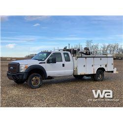 2012 FORD F550 E-CAB SERVICE TRUCK
