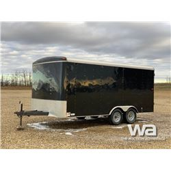 2014 MIRAGE T/A ENCLOSED TRAILER