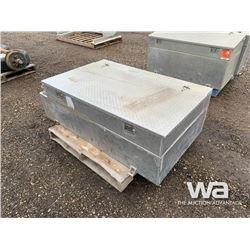 400L ALUMINUM FUEL TANK/TOOL BOX COMBO
