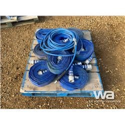 """PALLET OF 2"""" LAY FLAT WATER HOSE"""