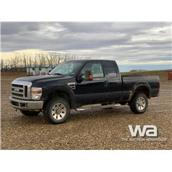 2008 FORD F350 XL E-CAB PICKUP