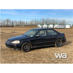 1998 HONDA CIVIC 4-DOOR CAR