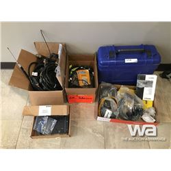 TRIMBLE CORDS, BRACKETS, PLUGS