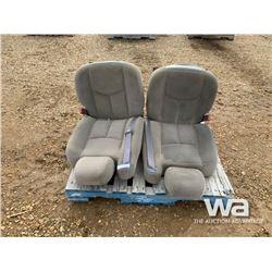 (2) CHEV/GMC BUCKET SEATS