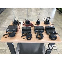 (4) KENWOOD NEXEDGE RADIOS & ANTENNAS