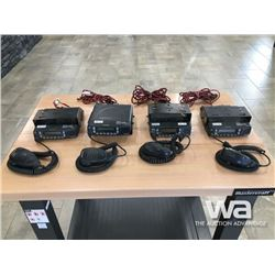 (4) KENWOOD NEXEDGE RADIOS