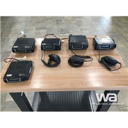 (5) KENWOOD NEXEDGE RADIOS