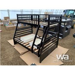 ESPRESSO TWIN/DOUBLE BUNKBED