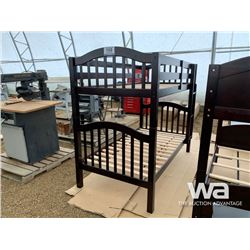 ESPRESSO TWIN FAITH BUNKBEDS