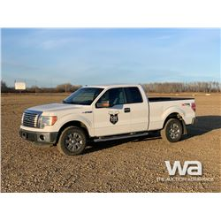 2012 FORD F150 E-CAB PICKUP