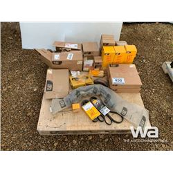 CAT D8T ALTERNATOR,  FILTERS & BRACKETS