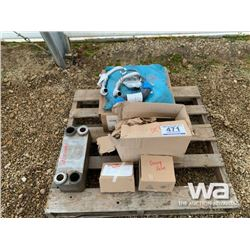 VOLVO A30 ROCK TRUCK OIL COOLER, DEF PARTS