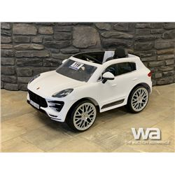 KIDS PORSCHE ELECTRIC CAR