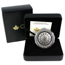 2019 $50 The Centennial Flame of Canada Fine Silver Antique Finish Coin. (TAX Exempt)