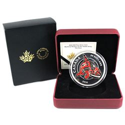 2016 Canada $50 Mythical Realms of the Haida - The Orca 5oz Fine Silver Coin. TAX Exempt