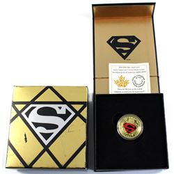 2014 Canada $100 Iconic Superman - Adventures of Superman #596 14K Gold Coin.