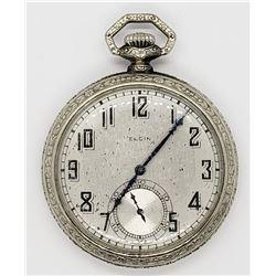 1926 ELGIN OPEN FACE POCKET WATCH
