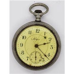 1912 ROCKFORD OPENFACE POCKET WATCH