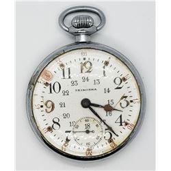 WWII Japanese NAVY pocket watch Seikosha