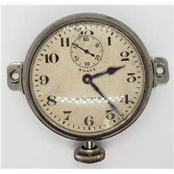 1919 LARGE WALTHAM 8 DAY OPENFACE WATCH