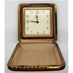 Vintage Phinney-Walker Wind-Up Travel Alarm Clock
