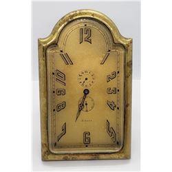 ANTIQUE Swiss Angelus 8 Day Travel Alarm Clock