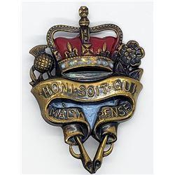 BRITISH ORDER OF THE GARTER HONI SOIT QUI MAL Y PE