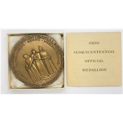 OHIO SESQUICENTENNIAL 1953 MEDAL