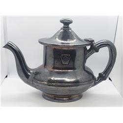 VTG International Silver Co Tea pot, Silver solder