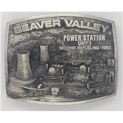 VINTAGE BEAVER VALLEY POWER STATION BELT