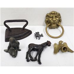 "CAST IRON LOT: MINI JASCO JOCKEY 1"","