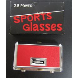 SPORTS GLASSES 2.5 POWER NEW IN BOX