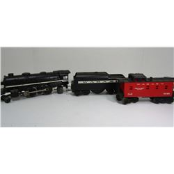 LIONEL ENGINE #8904, WABASH TENDER,