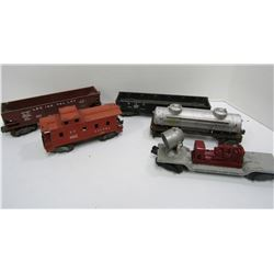 5-LIONEL CARS #6456 Lehigh Valley,