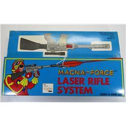 Scarce Vintage Magna-Force Laser Rifle System Toy