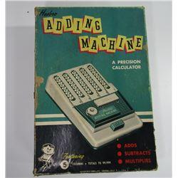 HASBRO ADDING MACHINE 1960's