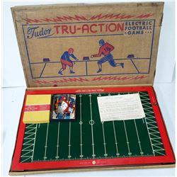 Vintage 1949 Tudor Tru-Action Electric Football Ga