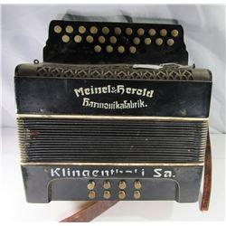 Vintage Meinel & Herold Accordion - Harmonikafabri
