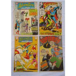 3-1968 DC COMICS: #205 SUPERMAN, #148 SUPERBOY,