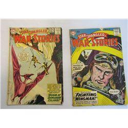 2-Star Spangled War Stories: #78 1959 & #103 1962